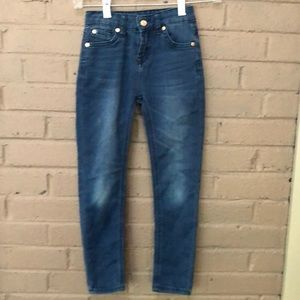 7 For All Mankind Stretch Skinny Jeans 6X